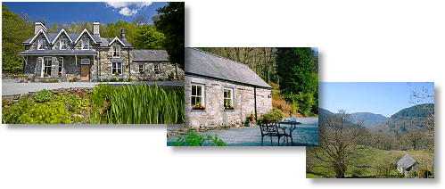 betws-y-coed - bed and breakfast, self catering holiday cottage and view