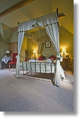four poster bed and breakfast accommodation
